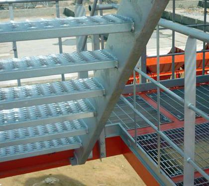 德基机械拌合站楼体细节展示