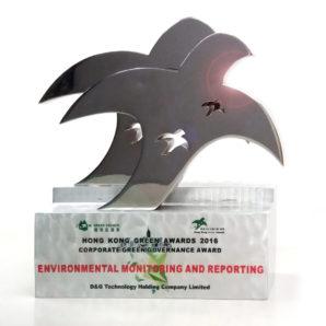 Hong Kong Green Awards 2016 – Corporate Green Governance Award – Environmental Monitoring and Report