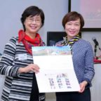 Ms Glendy Choi speaks at HKYIC's College Lecture